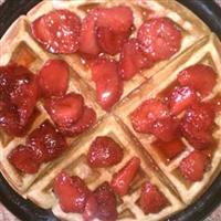 Honey Wheat Waffles